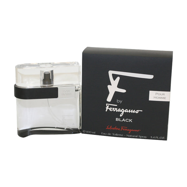 FSB26M - F Ferragamo Black Eau De Toilette for Men - 3.4 oz / 100 ml Spray