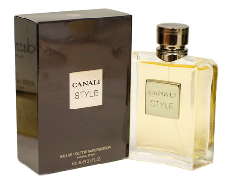 CNS34M - Canali Style Eau De Toilette for Men - Spray - 3.4 oz / 100 ml