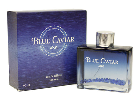 AXB12M - Axis Blue Caviar Eau De Toilette for Men - Spray - 3 oz / 90 ml