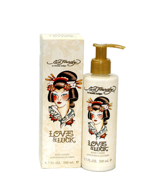 EDHL10 - Ed Hardy Love & Luck Body Lotion for Women - 6.7 oz / 200 ml