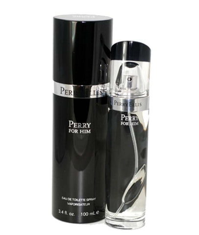 PEBLK - Perry Black Eau De Toilette for Men - Spray - 3.4 oz / 100 ml