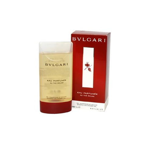 BVA68 - Bvlgari Au The Rouge Eau Parfumee Shower Gel for Women | 6.8 oz / 200 ml