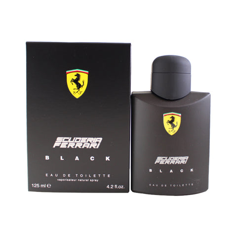 SFB27M - Scuderia Ferrari Black Eau De Toilette for Men - 4.2 oz / 125 ml Spray