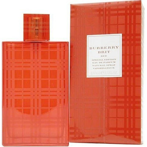 BRI31 - Burberry Brit Red Eau De Parfum for Women - Spray - 3.3 oz / 100 ml