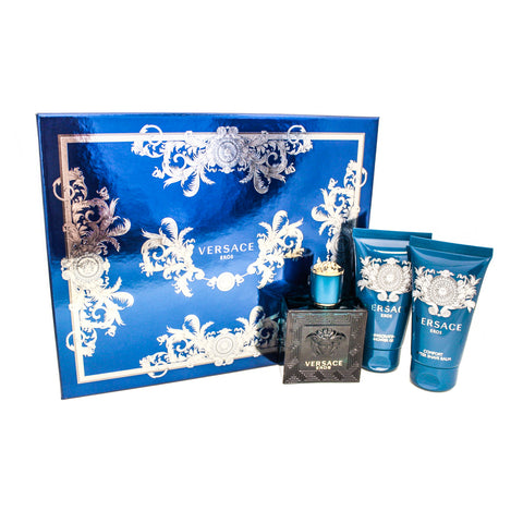VER553M - Versace Eros 3 Pc. Gift Set for Men