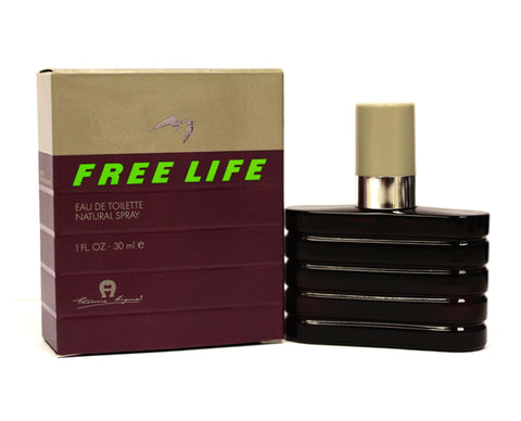 ET201M - Free Life Eau De Toilette for Men - Spray - 1 oz / 30 ml
