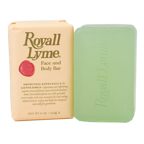 R9958M - Royall Lyme Of Bermuda Face & Body Soap for Men - 8 oz / 224 g