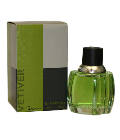 VED12M - Vetiver Dana Eau De Toilette for Men - Spray - 3.4 oz / 100 ml