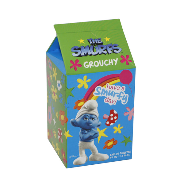 SMR12 - The Smurfs Grouchy Eau De Toilette for Men - 1.7 oz / 50 ml Spray
