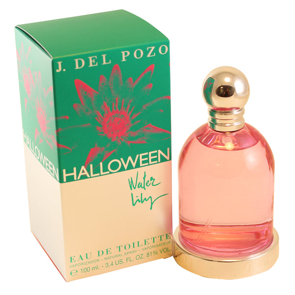 HWL52 - Halloween Water Lily Eau De Toilette for Women - 3.4 oz / 100 ml Spray