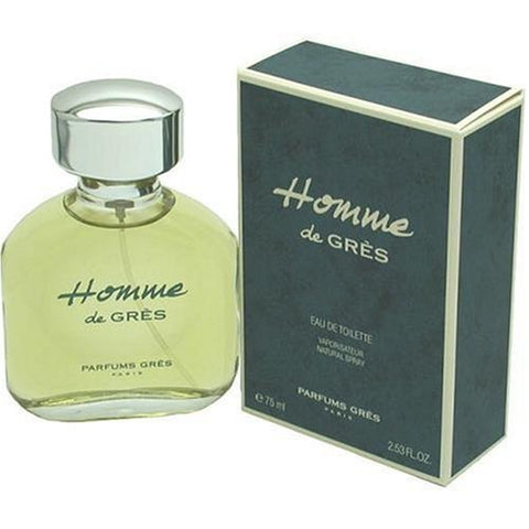 GR21M - Homme De Gres Eau De Toilette for Men - Spray - 2.53 oz / 75 ml