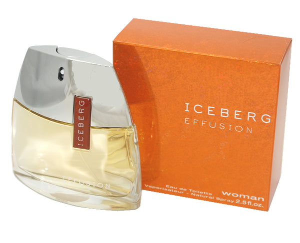 ICE10W-F - Iceberg Effusion Eau De Toilette for Women - 2.5 oz / 75 ml Spray