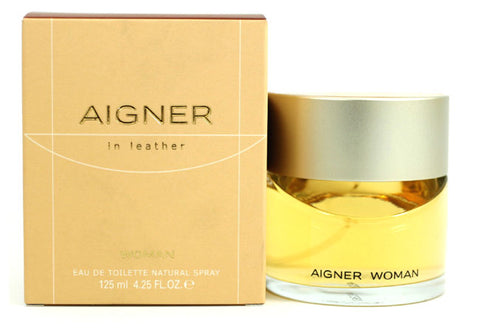 AIG28 - Aigner In Leather Eau De Toilette for Women - Spray - 4.25 oz / 125 ml