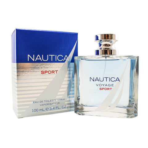 NVS34M - Nautica Voyage Sport Eau De Toilette for Men - 3.4 oz / 100 ml Spray
