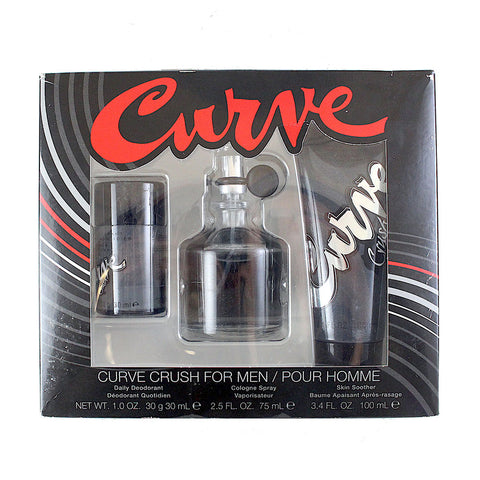 CRU26M - Curve Crush 3 Pc. Gift Set for Men