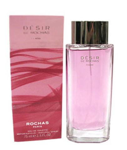 DES12 - Desir De Rochas Femme Eau De Toilette for Women - 2.5 oz / 75 ml Spray
