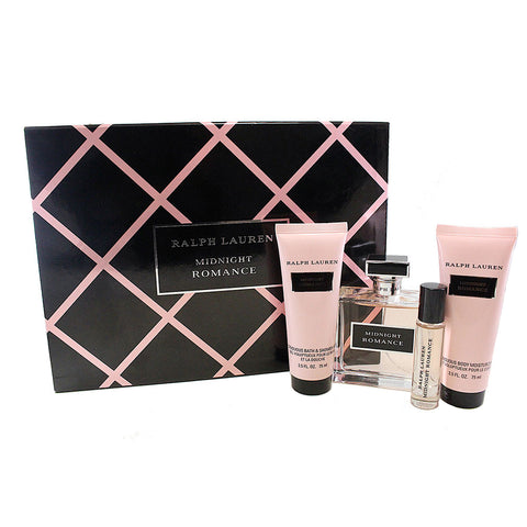 MR44 - Midnight Romance 4 Pc. Gift Set for Women