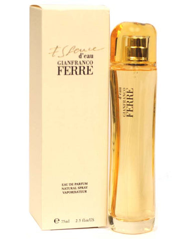 GIA11W-F - Gianfranco Ferre Essence D'Eau Eau De Parfum for Women - Spray - 2.5 oz / 75 ml