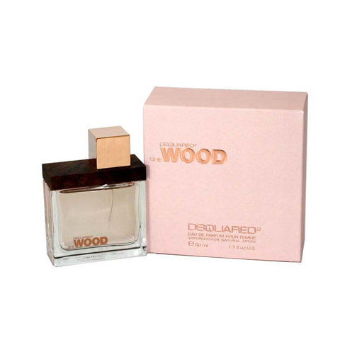 DESW18 - Dsquared2 She Wood Eau De Parfum for Women - 1.7 oz / 50 ml Spray