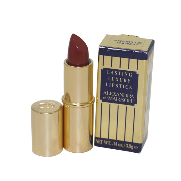 ALEX37 - Alexandra De Markoff Lasting Luxury Lipstick for Women - 0.14 oz / 5.6 g - Amaryliss 10020532