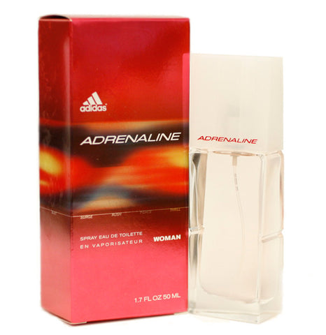 AD218 - Adidas Adrenaline Eau De Toilette for Women - Spray - 1.7 oz / 50 ml