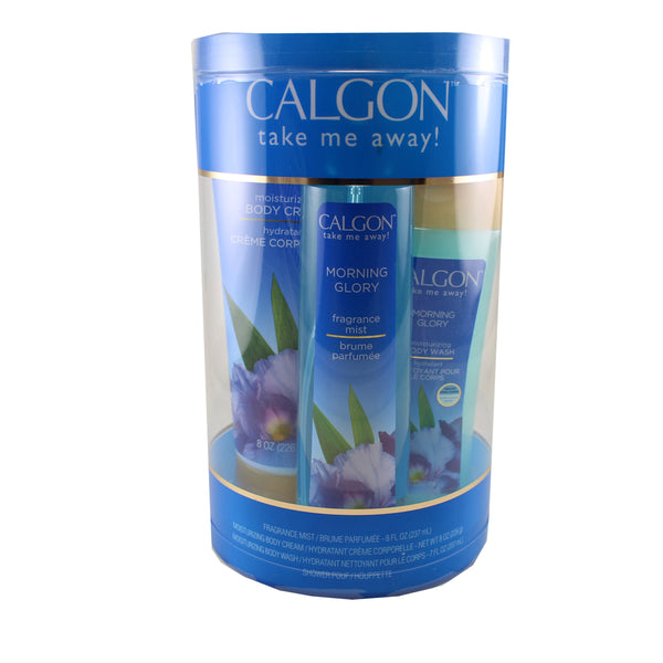CAL41 - Calgon Morning Glory 4 Pc. Gift Set for Women