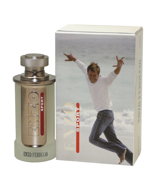 EFS34M - Enzo Sport Eau De Toilette for Men - Spray - 3.4 oz / 100 ml