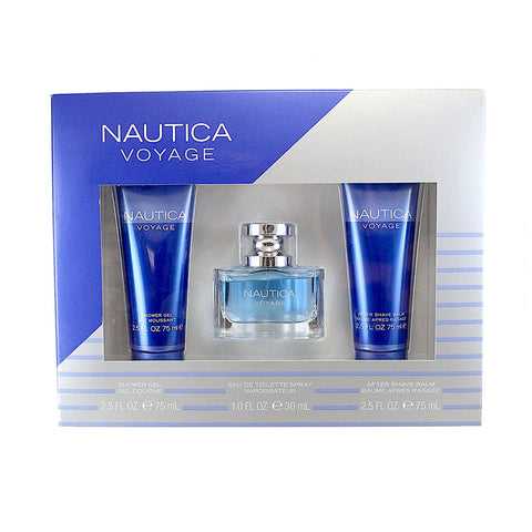 NAU29M - Nautica Voyage 3 Pc. Gift Set for Men
