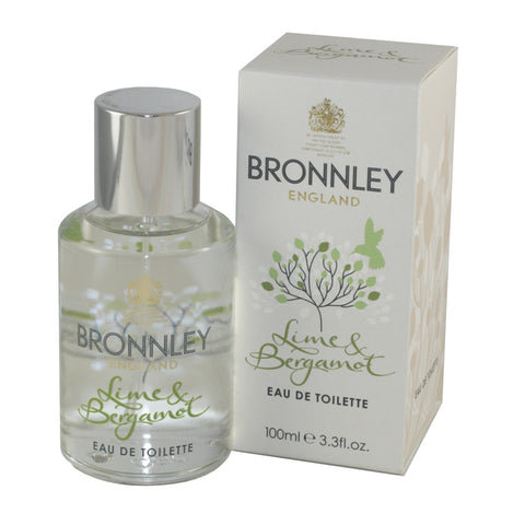 BRO19 - Bronnley England Lime & Bergamot Eau De Toilette for Women 3.3 oz / 100 ml