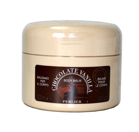 PG57W - Perlier Chocolate Vanilla Body Balm for Women - 6.8 oz / 200 ml