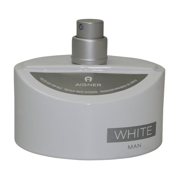AIGW3T - Aigner White Eau De Toilette for Men - 4.25 oz / 125 ml Spray Tester