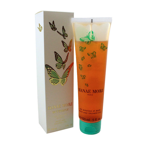HAB07 - Hanae Mori Butterfly Bath & Shower Gel for Women - 5 oz / 150 g