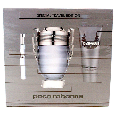 PAC3M - Invictus 3 Pc. Gift Set for Men