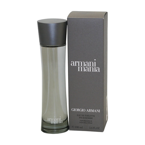 MA42M - Armani Mania Eau De Toilette for Men - Spray - 3.4 oz / 100 ml