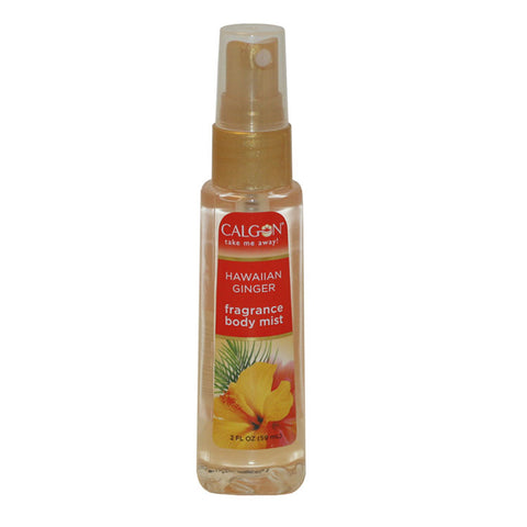 HAW14 - Calgon Hawaiian Ginger Refreshing Body Mist Spray for Women - 2 oz / 59 ml
