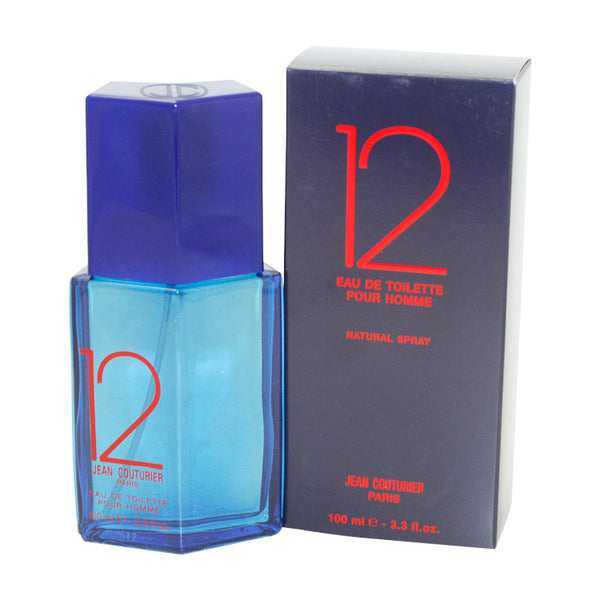 12JEA-P - Jean Couturier 12 Eau De Toilette for Men - Spray - 3.3 oz / 100 ml