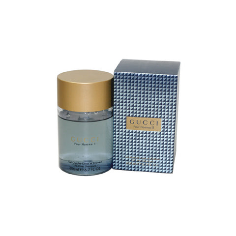 GU267M - Gucci Gucci Pour Homme Ii All Over Shampoo for Men 6.7 oz / 200 ml