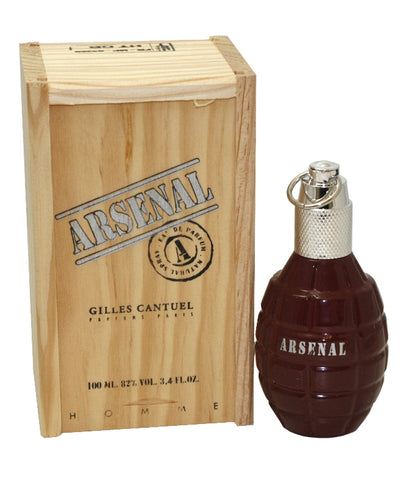 ARS35 - Arsenal Dark Red Eau De Toilette for Men - Spray - 3.4 oz / 100 ml