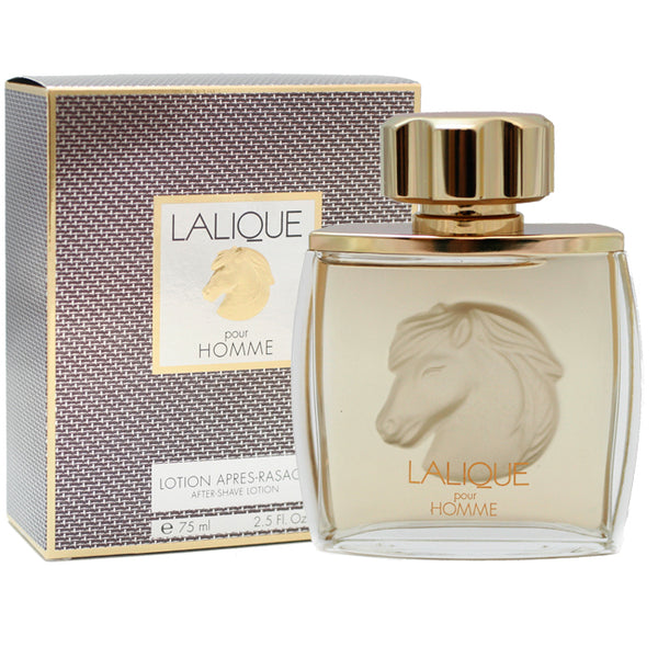 LA56M - Lalique Equus Aftershave for Men - 2.5 oz / 75 ml