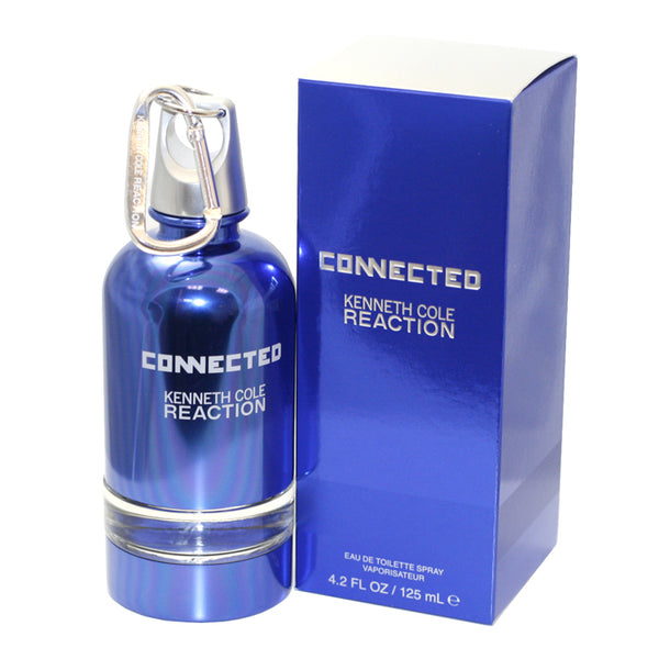 REC37M - Kenneth Cole Reaction Connected Eau De Toilette for Men - 4.2 oz / 125 ml Spray