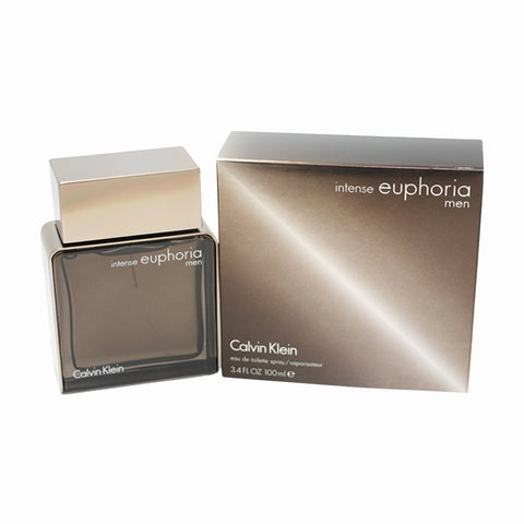 EUP25M - Euphoria Intense Eau De Toilette for Men - 3.4 oz / 100 ml Spray