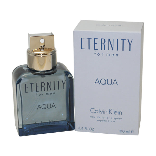 ETA5M - Eternity Aqua Eau De Toilette for Men - 3.4 oz / 100 ml Spray