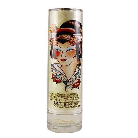 EDHL12U - Christian Audigier Ed Hardy Love & Luck Eau De Parfum for Women Spray - 3.4 oz / 100 ml - Unboxed