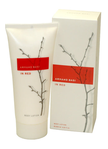 ARM14 - Armand Basi In Red Body Lotion for Women - 6.8 oz / 200 ml