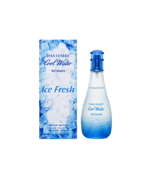 COF52 - Cool Water Ice Fresh Eau De Toilette for Women - Spray - 3.4 oz / 100 ml - Limitied Edition