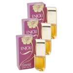 ENJ12W - Revlon Enjoli Cologne for Women | 3 Pack - 0.5 oz / 14 ml (mini) - Spray