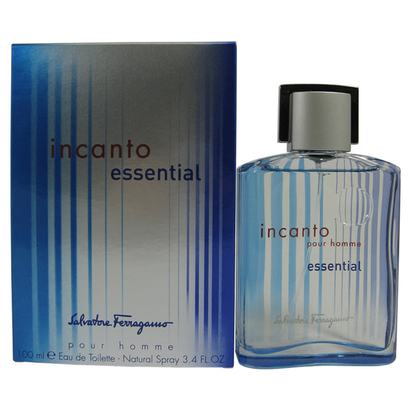 INC12M - Incanto Essential Eau De Toilette for Men - Spray - 3.4 oz / 100 ml