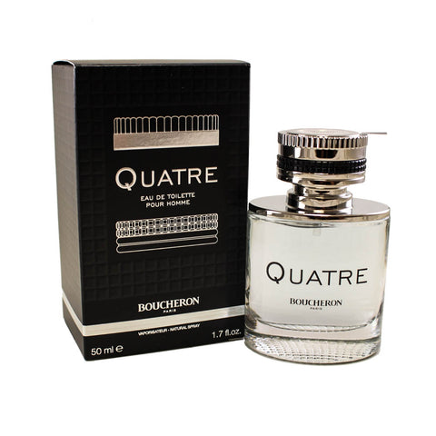 BOQ01M - Quatre Pour Homme Eau De Toilette for Men - 1.7 oz / 50 ml Spray