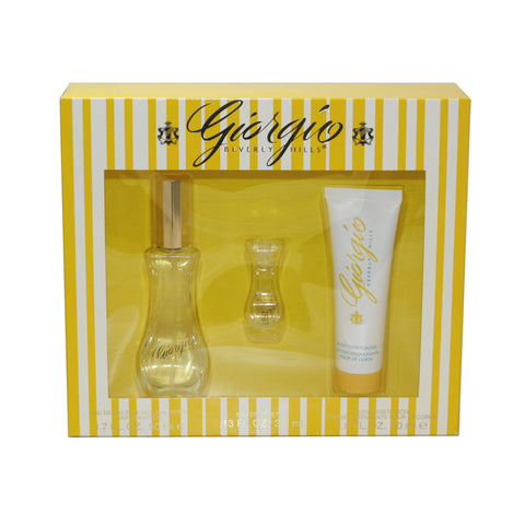 GI351 - Giorgio Beverly Hills 3 Pc. Gift Set for Women