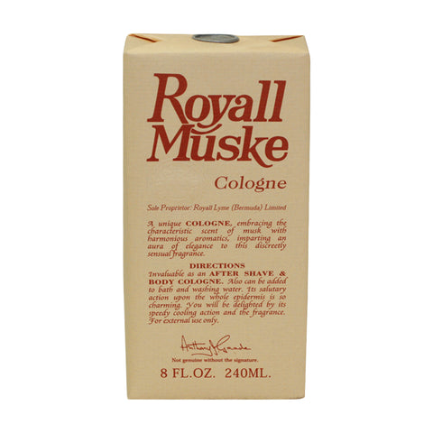R987M - Royall Muske Of Bermuda Cologne for Men - 8 oz / 240 ml Splash